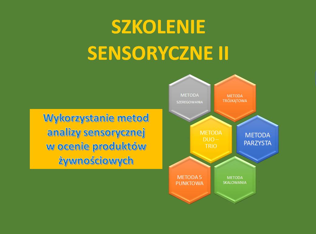 Szkolenie sensoryczne II