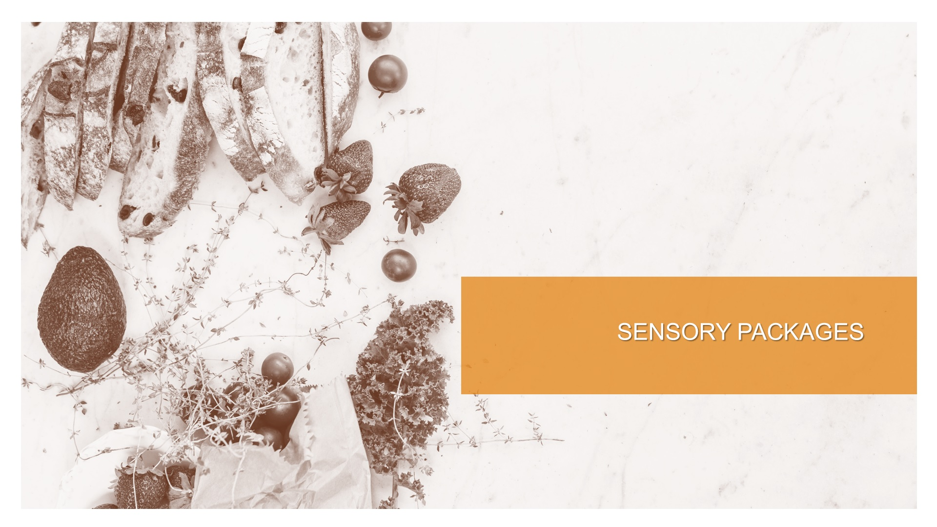 sensory packages
